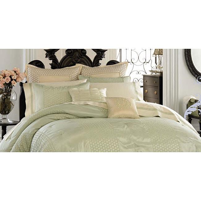 Anthology Eyelet Mint Comforter Set