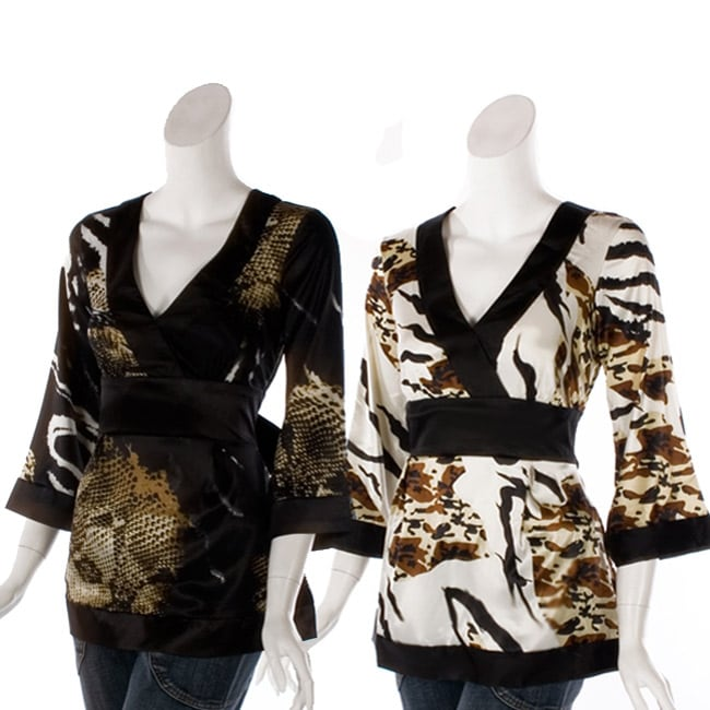 Kaelyn Max Tie-back Blouse