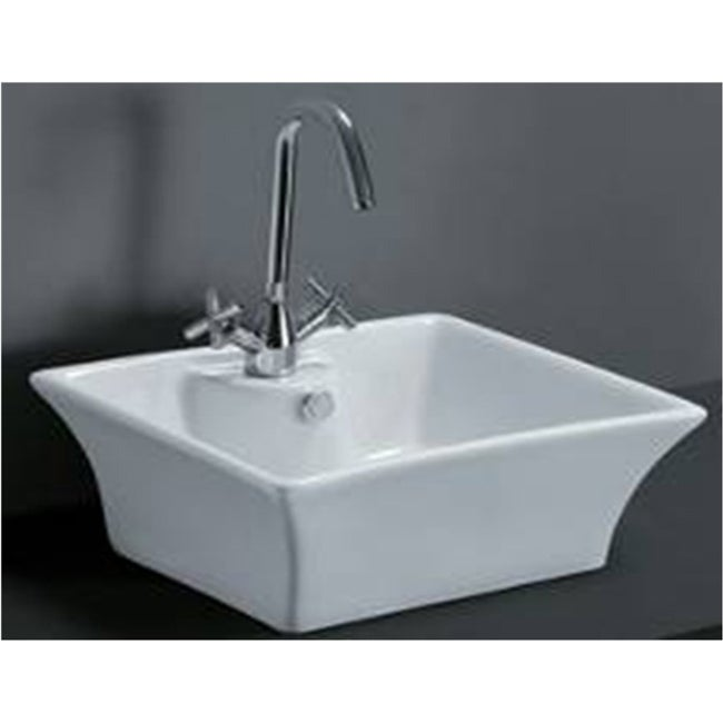 Rectangular Porcelain Bathroom Vessel Sink Free Shipping