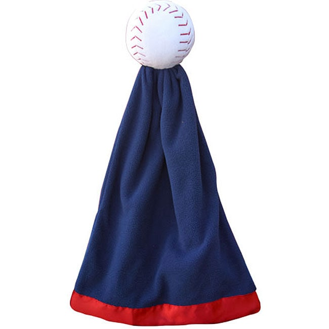 Baseball Snuggleball and Blanket