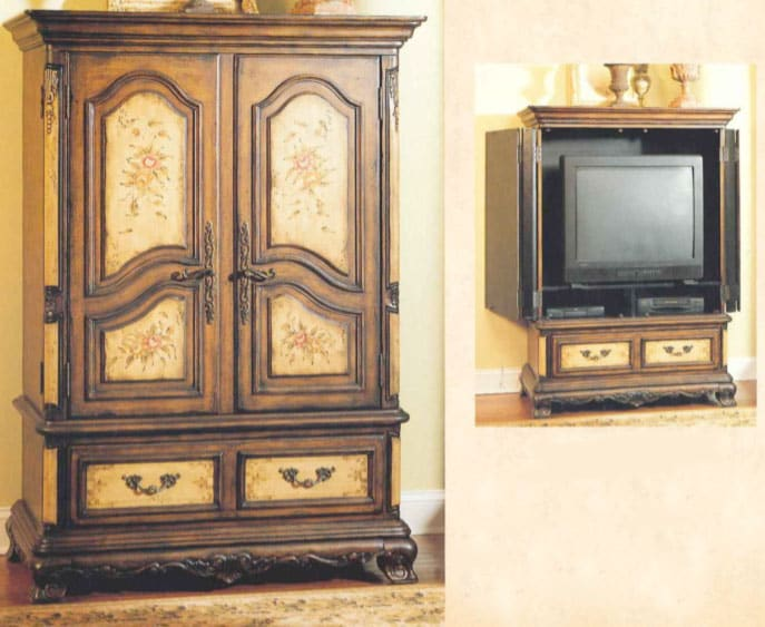 Broyhill Continents French Provincial Entertainment Center Free Shipping Today 3654759