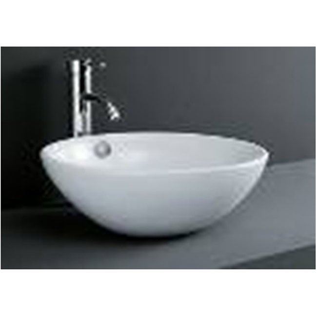 DeNovo Porcelain Bowl Bathroom Vessel Sink