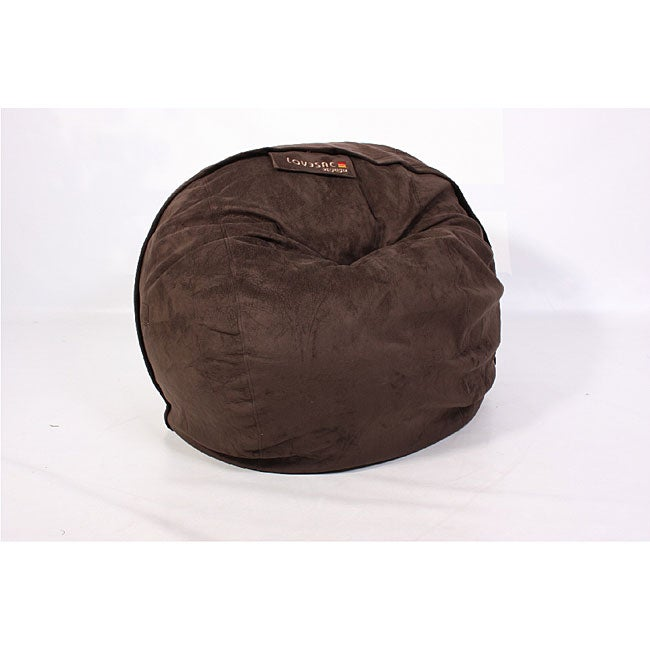 LoveSac CitySac 4-foot Lounge Chair Espresso Brown