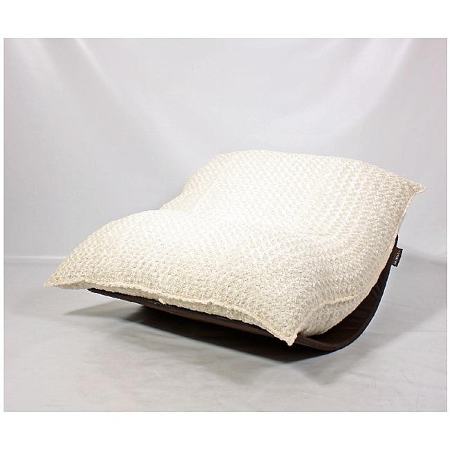 Lovesac Sofa For Sale: LoveSac PillowSac Eskimo White Lounge Bag Chair