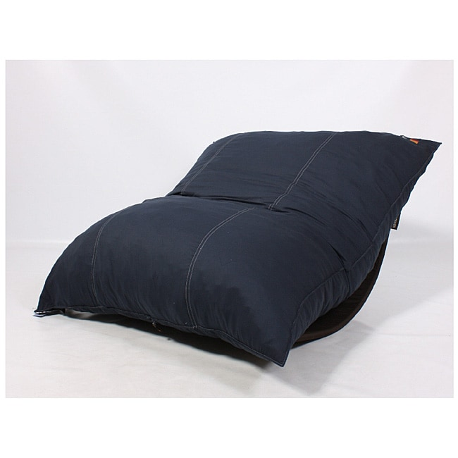 LoveSac PillowSac Navy Foam Lounge Bag Chair