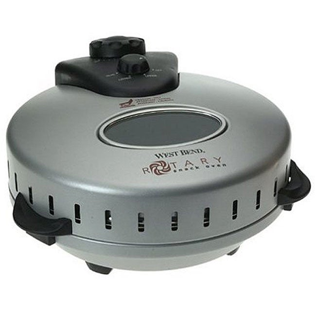 West Bend Rotary Snack Oven Free Shipping Today