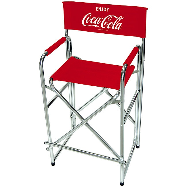 tall cocacola logo director chair - Tall Directors Chair