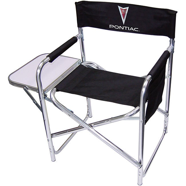 Pontiac Logo Director Chair Free Shipping Today