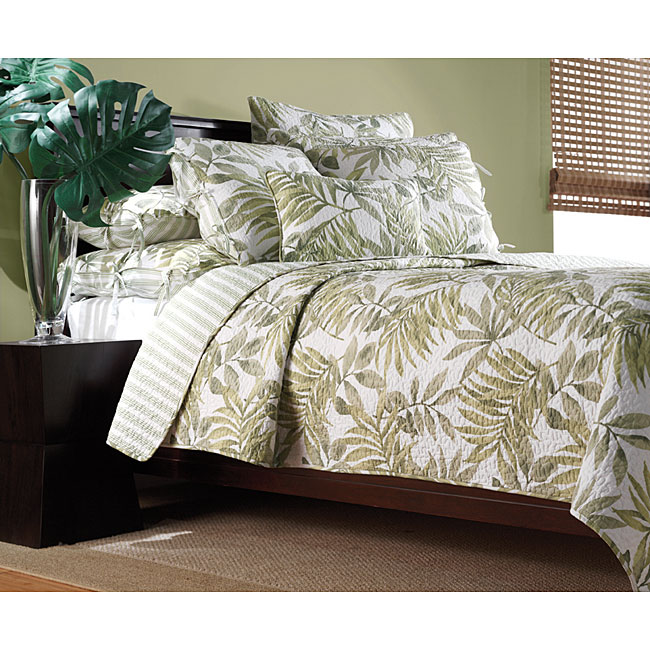 Tropical Leaves Quilt Set Free Shipping Today