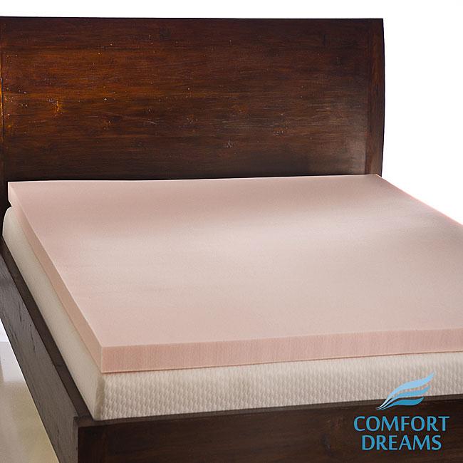 Comfort Dreams Sensus 3-inch Memory Foam Mattress Topper