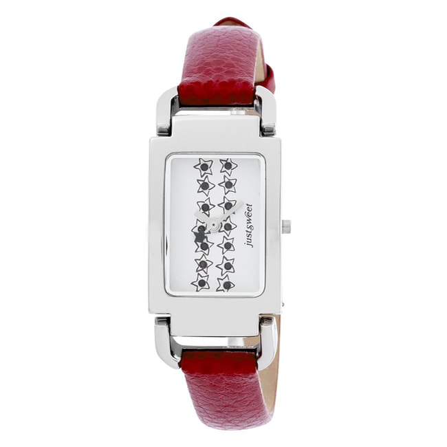 Just Sweet by Jennifer Lopez Red Strap Watch - Thumbnail 0