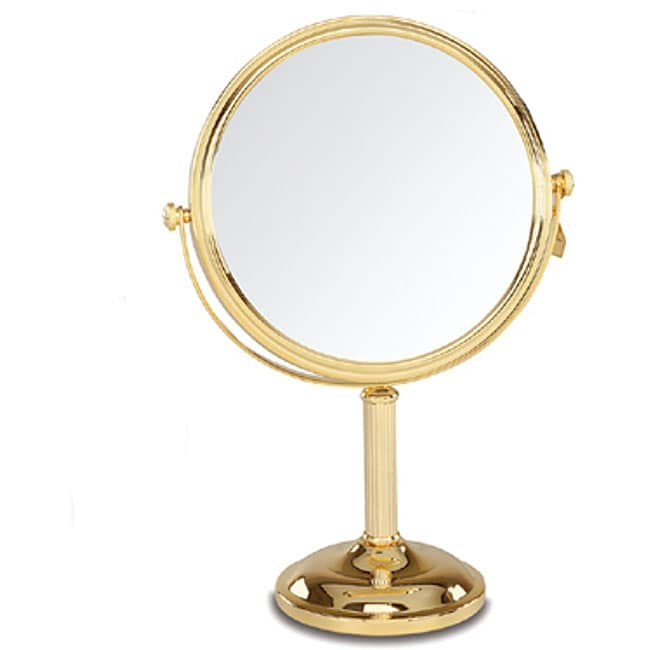 Danielle Gold Plated Vanity Mirror Free Shipping Today