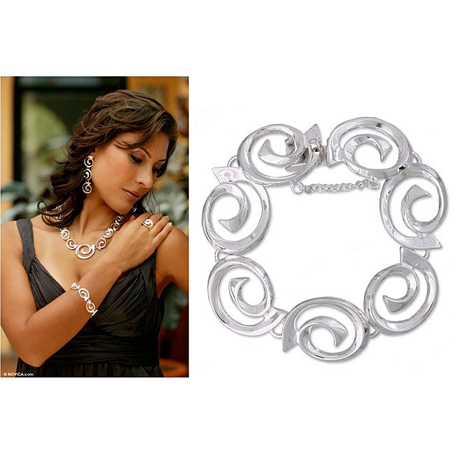 Sterling Silver 'Soul's Inception' Bracelet (Mexico)