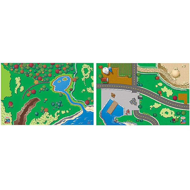Thomas and Friends 2-sided Playboard
