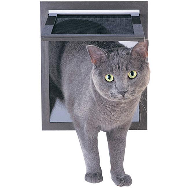 Pet Screen Door, Black