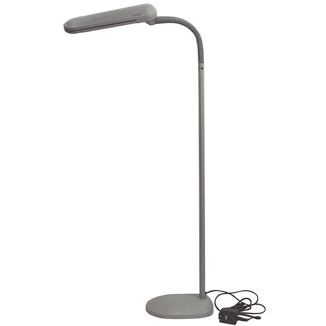 Shop Ott Lite Pale Grey True Color Floor Lamp Free