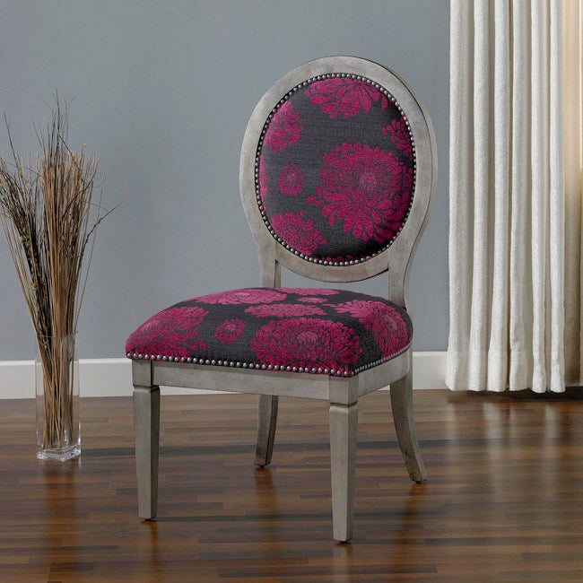 Haley Fuschia Chair Free Shipping Today Overstock Com