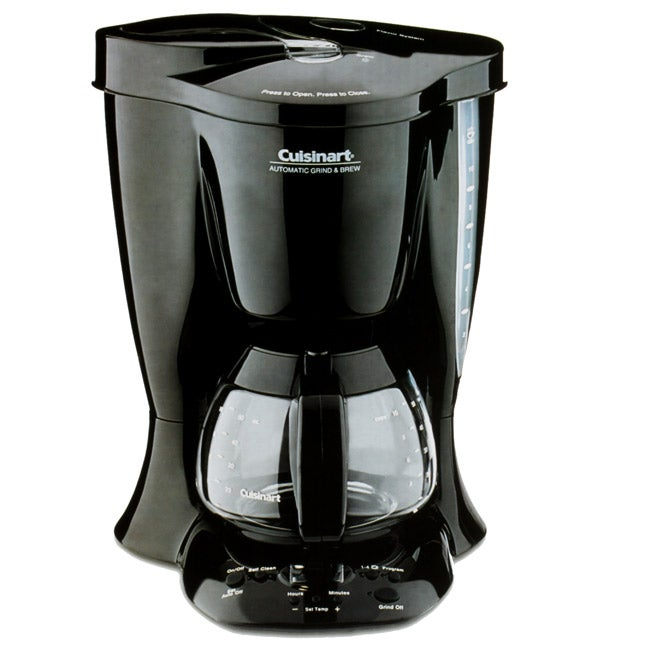 Cuisinart Automatic Grind And Brew Coffee Maker Problems : Cuisinart Automatic Grind and Brew Coffeemaker - Free Shipping Today - Overstock.com - 11729228