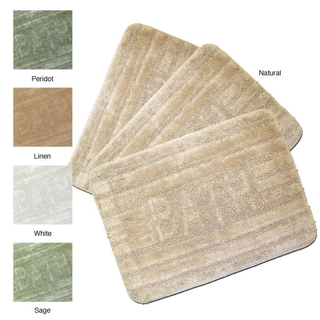 Magic Makeover Bath Step-out 3-piece Rug Set