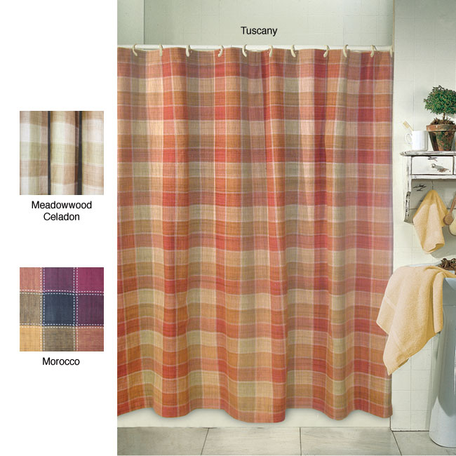 Magic Makeover Franklin Shower Curtain