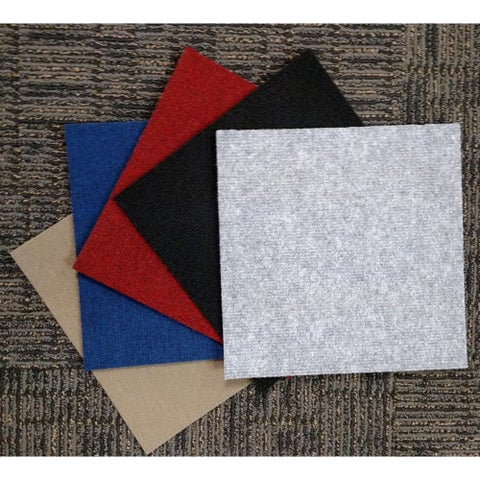 Do It Yourself Peel-and-stick Carpet Tiles (36 Square Feet)