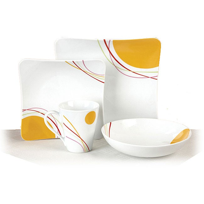 Malibu Sunrise 16-piece Dinnerware Set