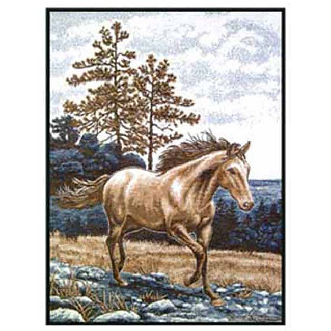 Biederlack High Country Horse Throw