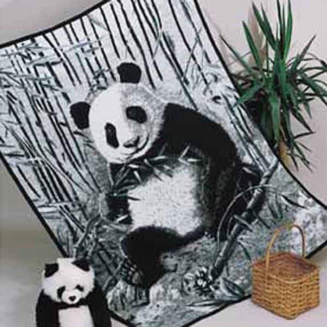 Bamboo Panda Throw