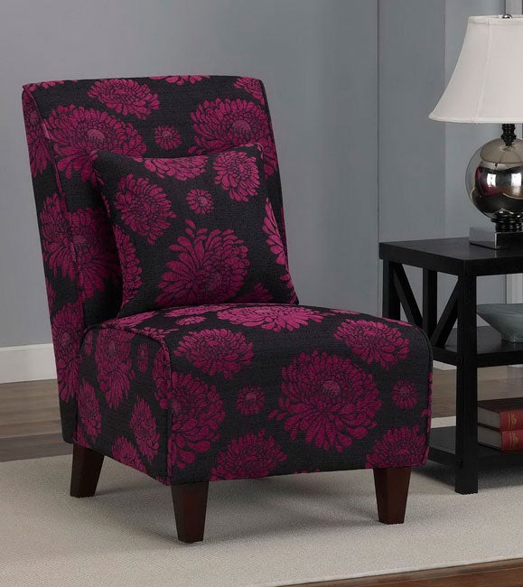 Tapered Fuchsia Chair Free Shipping Today Overstock