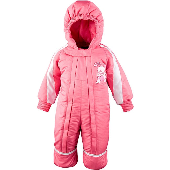 Toddler 18-month One-piece Pink Snowsuit