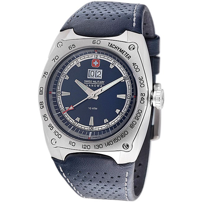 Swiss Military Men's Challenger Leather Watch Model # 06-4113-04-003