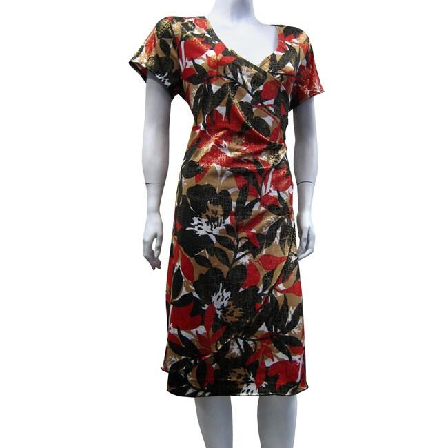 Level Eight Women's Plus Size Wrap Dress