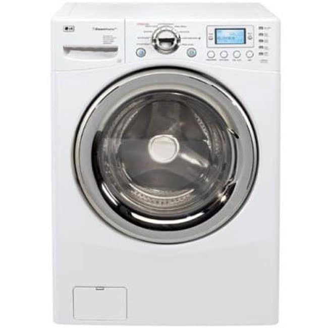 LG WM3988HWA 4.2-cubic-foot White Steam Washer/ Dryer Combo