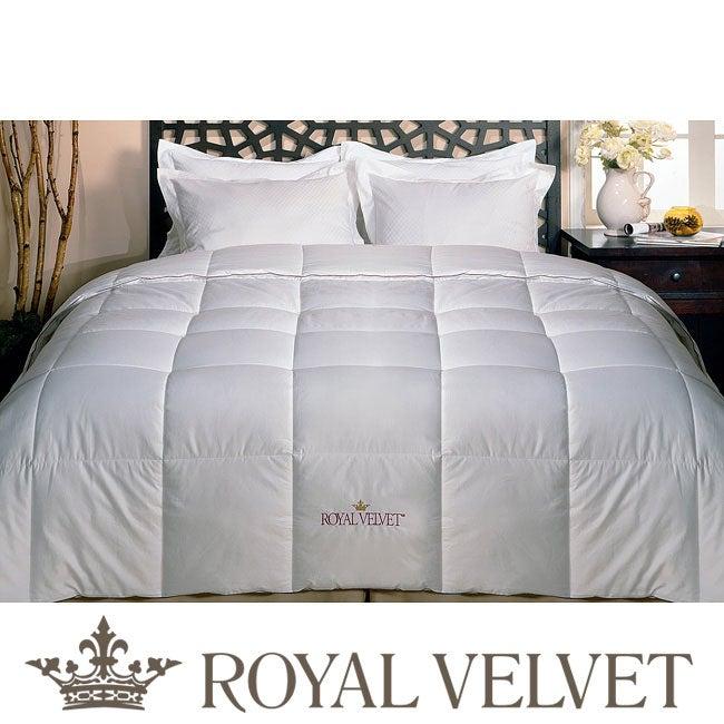 Royal Velvet All Season Down Alternative Comforter