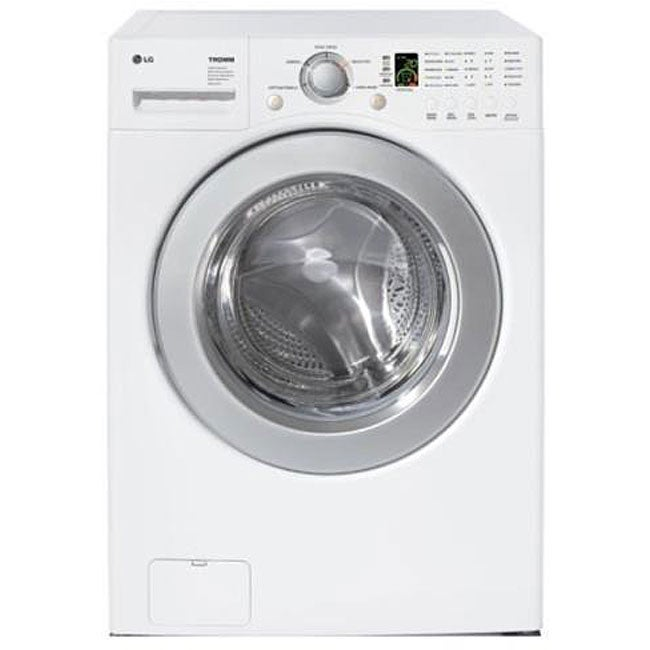 Lg 3 5 Cubic Foot Front Load Stackable White Washer Free