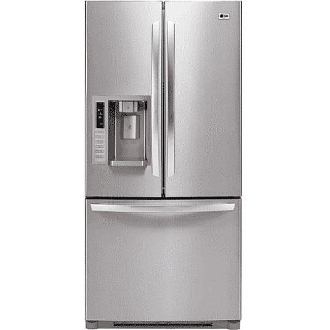 LG 23-cubic-foot French Door Stainless Steel Refrigerator