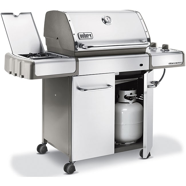 weber genesis s 320 stainless steel propane gas grill. Black Bedroom Furniture Sets. Home Design Ideas