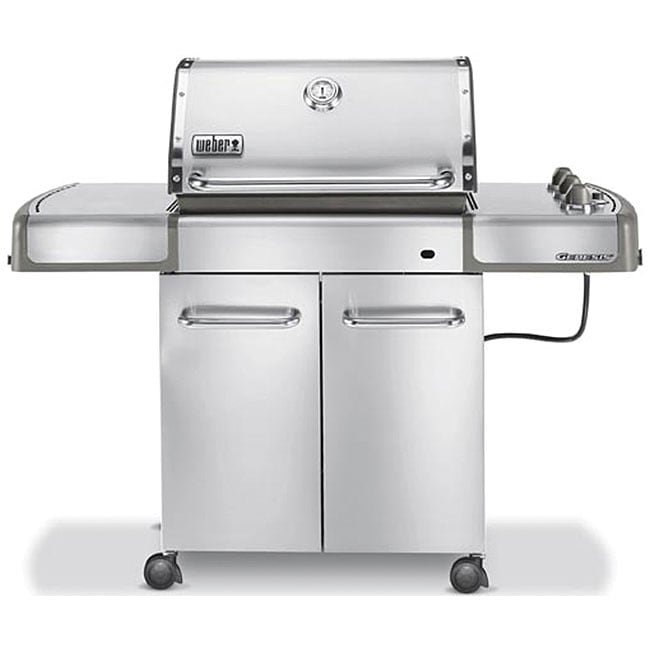 Weber Genesis S 310 >> Shop Weber Genesis S-310 Stainless Steel Propane Gas Grill - On Sale - Free Shipping Today ...