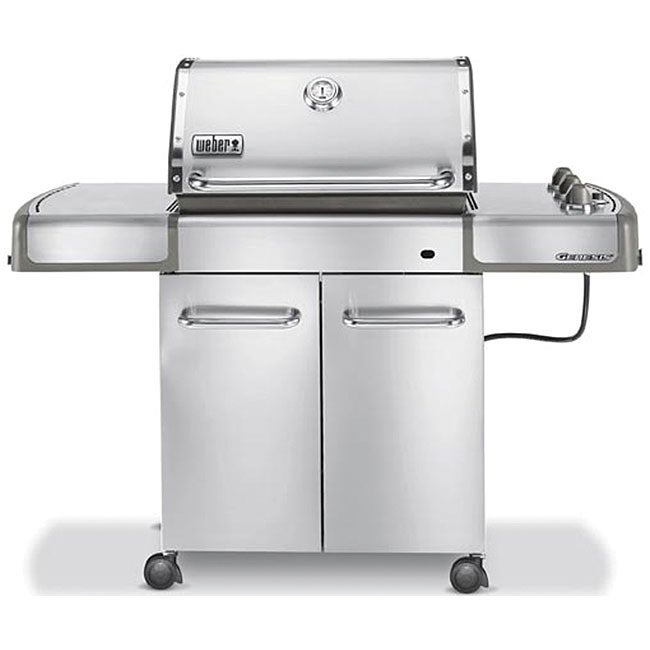 Weber Genesis S 310 Stainless Steel Propane Gas Grill