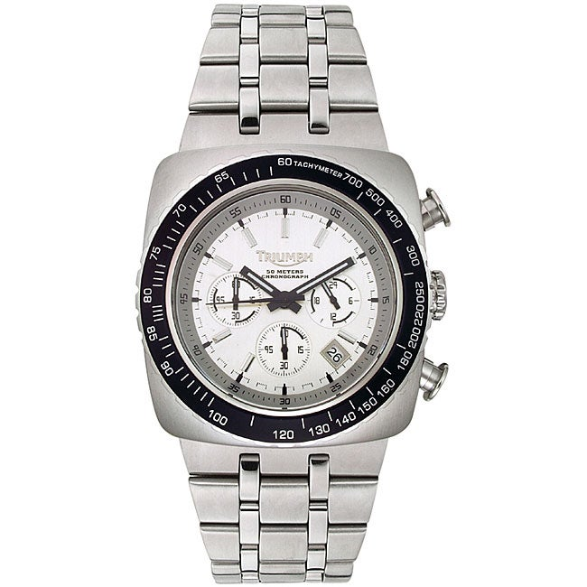 triumph motorcycles men's chronograph watch - free shipping today