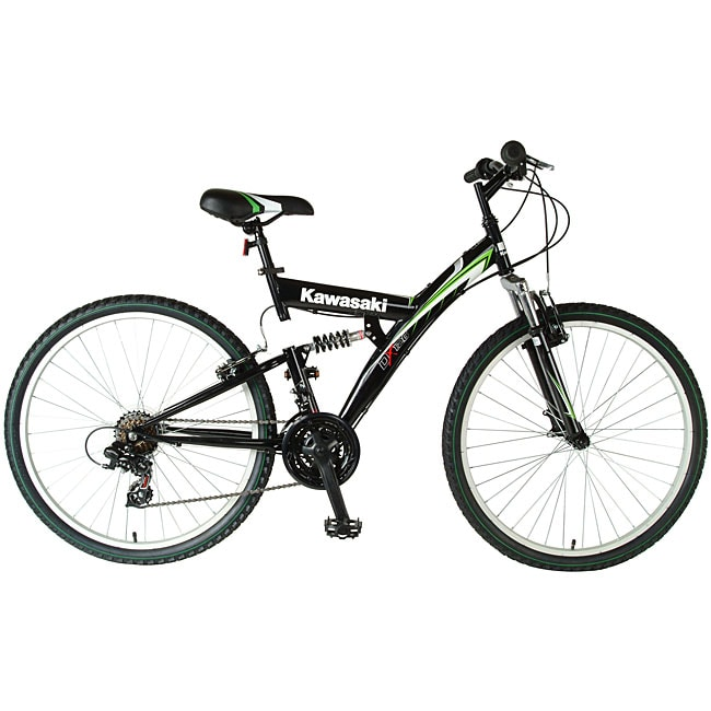 Kawasaki KDX126FS Dual Suspension Bicycle