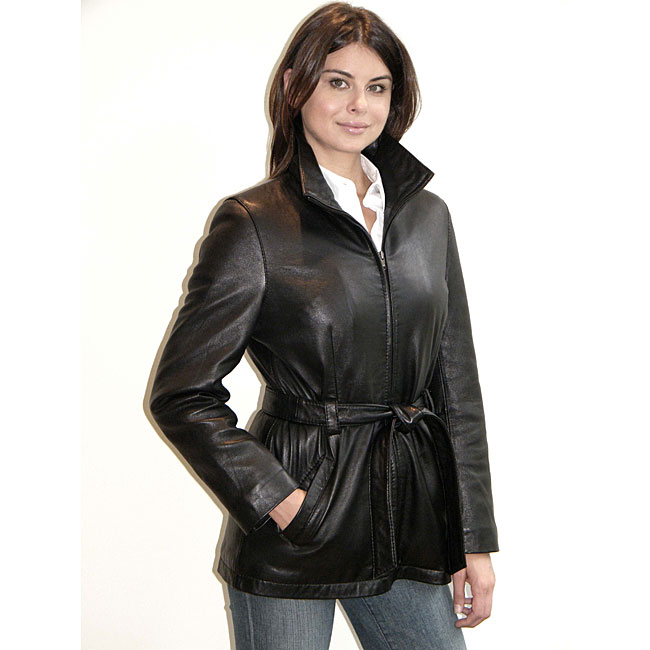 Yaya leather jacket