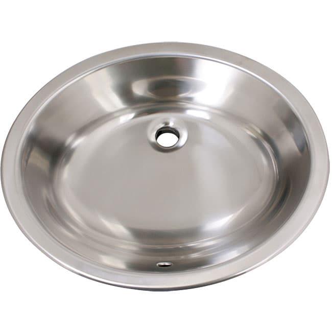 Geyser Stainless Steel Undermount Overmount Bathroom Sink Free