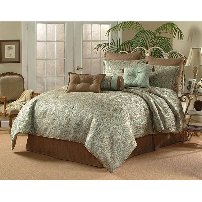 Tulane Spa 9-piece Luxury Comforter Set