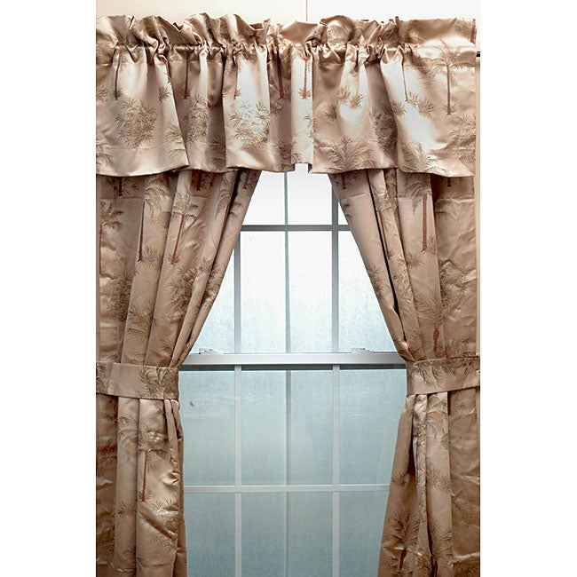 Key Largo 100- inch Curtains with Tiebacks - Free Shipping On ...