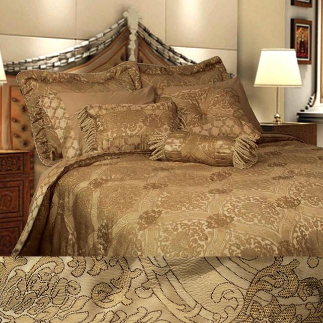 Hamburg 7-piece Luxury Oversized Comforter Set