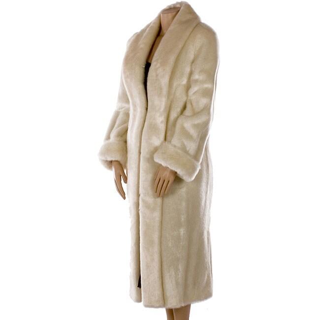 1c177d0b1336c Shop Dennis Basso Plus Size Faux Fur Coat - Free Shipping Today ...