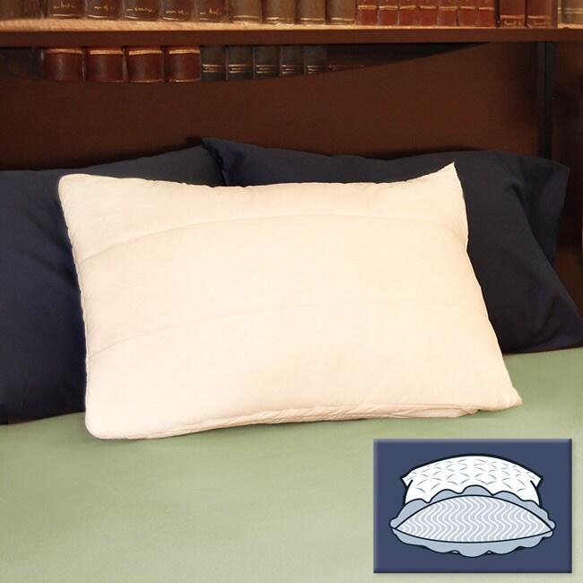 Super Stuff 300 Thread Count High Loft Quilted Pillows (Set of 2)