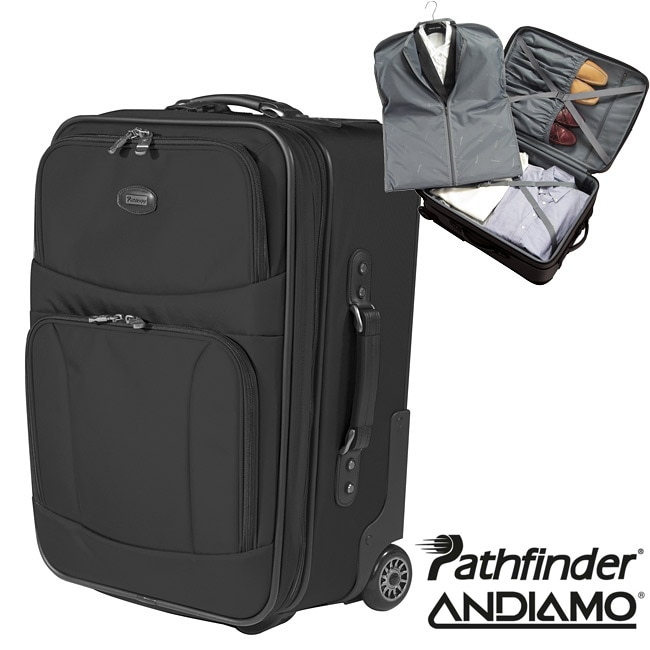 Pathfinder Altitude 25-inch Expandable Rolling Suitcase - Free ...