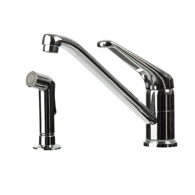 4 Hole Single Control Kitchen Faucet : Genesis hole single control kitchen faucet free shipping on orders over overstock